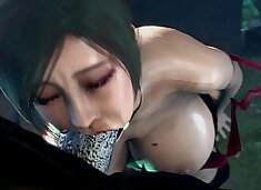 resident evil ada fucked by mister x huge dick