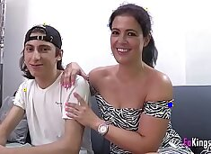 Filipe`s best waking material are Montse`s videos. Today, he`s banging her ;)