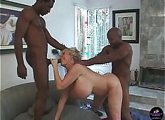 """Kayla Kleevage, Billy and Silvio in """"Fuck My Big Milk Cow Tits"""""""