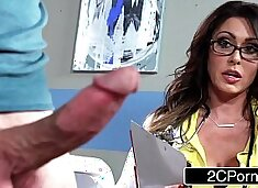 Tall Busty Doctor Jessica Jaymes Milking Her Patient