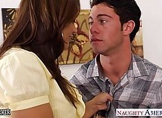 Chesty teacher Francesca Le fuck her young student