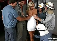 Monika Bella, the Firemen`s Delight