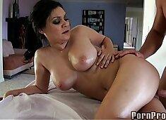 Masseuse tits fuck