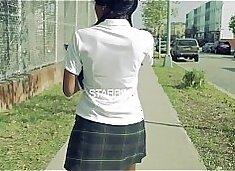 young ebony school girl gets fuck really hard @ whoaboyz.com