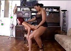 Spanked by ebony mistress - Ayacum.com