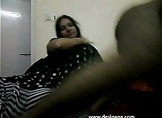 .com – tamil bhabhi in black indian saree giving her hubby a blowjob on live cam show