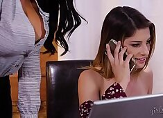 Calm down Honey, I don`t want to be your girlfriend! - Romi Rain & Kristen Scott