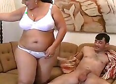 Granny with huge ass and glasses compilation