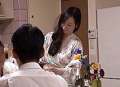 Fabulous Japanese model in Exotic Cuckold, Wife JAV movie