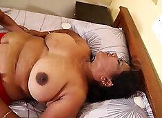 Mature indian aunty, hot sex scandal part3