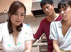 KAAD-15 BEAUTIFUL MOTHER IN LAW OF OUR HOUSE NOBUKO HAYAMA