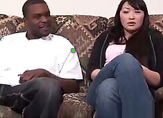 Hot Asian Girl Public Pickup by Big Black African Dick