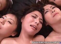 Maki Houjo, Kokomi Naruse,Rui Santome,and Erii Akira Asian hotties are nurses in heat