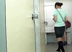 Sick Pervert Attacking Japanese Schoolgirls In Toilet