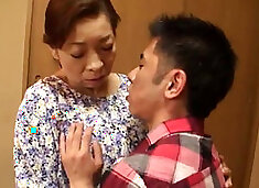 Asian Grandma Touko Shinobu loves fucking