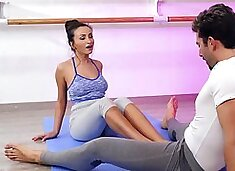 Dance lesson with sexy teacher turns into passionate fucking