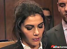 Cock hungry valentina nappi fucking in the elevator