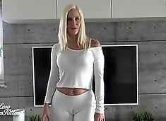 !tten - Bubble Butt Reiten mit der Latex Bitch - Schwester Laras abspritz Therapie