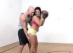 Brazzers - Big Tits In Sports -  Basket Whore