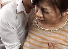 Doting Busty Mom