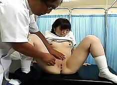 Megu Hazuki delicious Asian teen fucks in school uniform