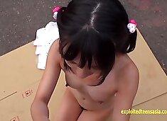 Haruki Karen Petite Jav Teen Fucked Outside At Abandoned Factory Pretty Schoolgirl Gets Creampie